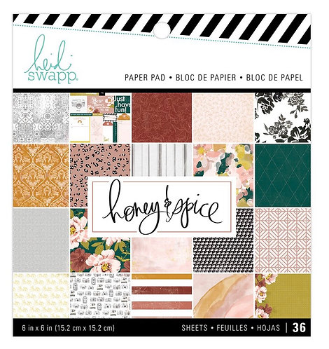 Honey & Spice 6x6 paper pack