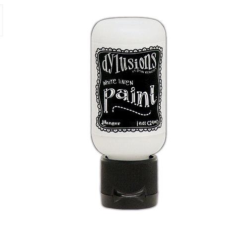 Dylusions Paint- Whte Linen