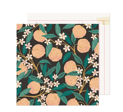Marigold 12x12 Natural beauty Crate Paper