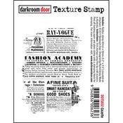 Gazette Texture Stamp
