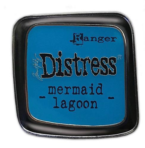 Tim Holtz Distress Enamel Pin -Mermaid lagoon