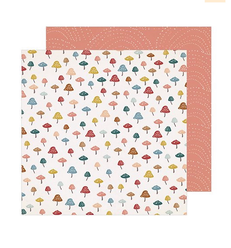 Discover 12x12 paper Magical Forest