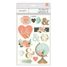 3D Stickers -Hello - Remarks