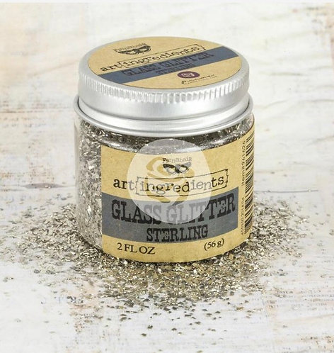 Glass Glitter -sterling - art ingredients