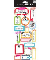 Mambi Stickers Birthday washi