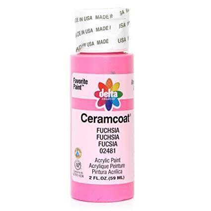 Fuchsia Ceramcoat Paint