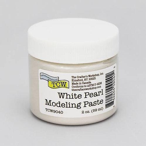 White Pearl Modeling Paste