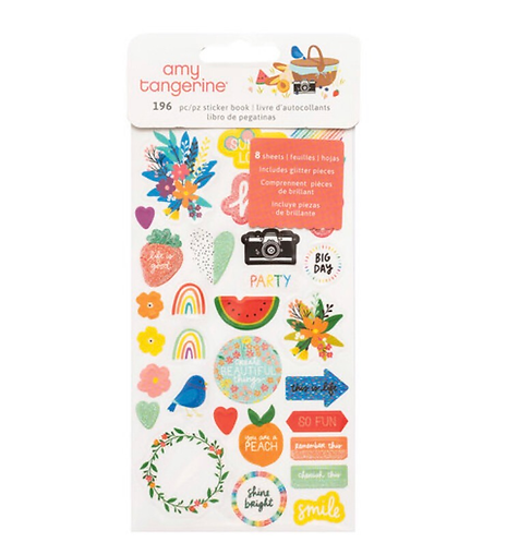 Picnic in the park sticker book