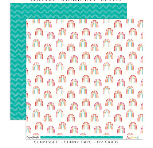 Sunkissed-12x12 Patterned Paper- Sunny Days