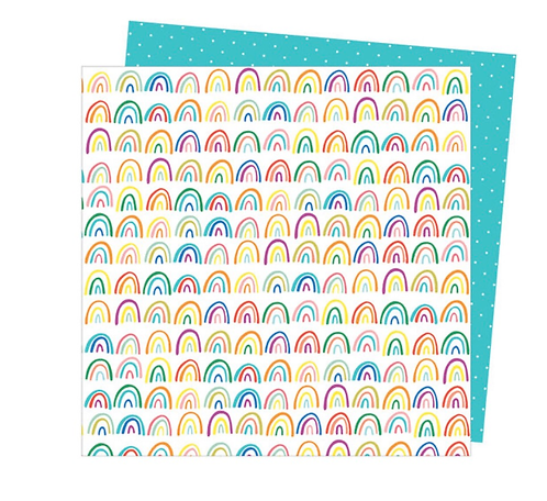 All the colors 12x12 Double sided patterned paper -Picnic in the park