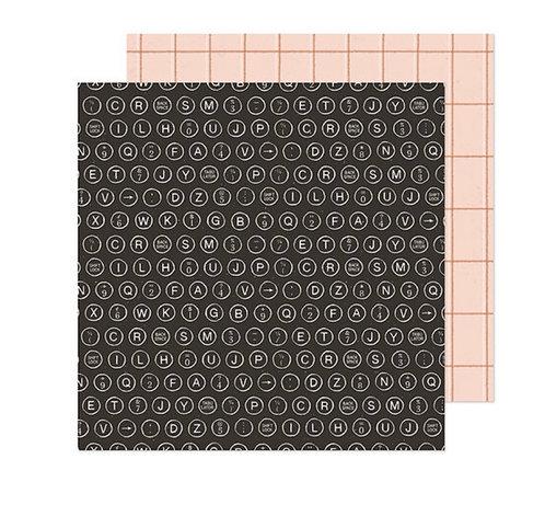Marigold 12x12 Nostalgia Crate Paper
