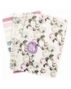 Travelers Journal notebook set- Poetic Rose
