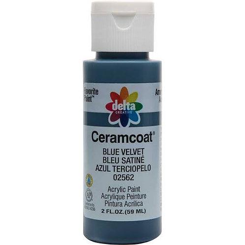 Blue Velvet Ceramcoat Paint