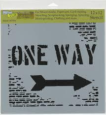 TCW 12x12 Stencil One Way Design
