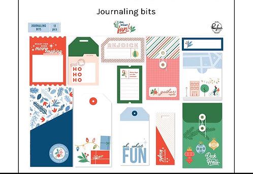 Oh what Fun Journaling Bits