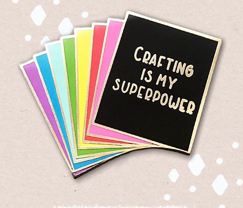 Enamel Pin-Rainbow Cardstock Pack