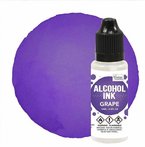 Alcohol Ink Grape