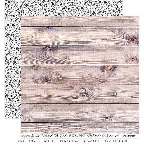 Natural Beauty- Unforgettable- Cocoa Vanilla Paper
