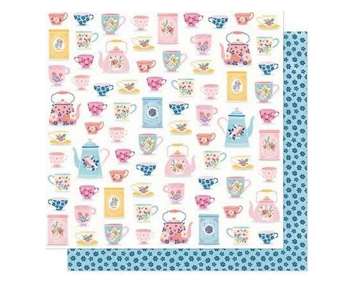 Just Smile  12x12 patterned paper she's magic