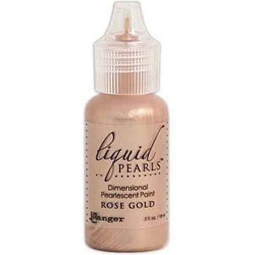 Liquid pearls-Rose gold