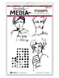 Positive women stamp-Dina Wakley