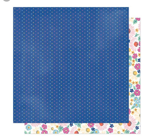 Sparkle 12x12 patterned paper she's magic