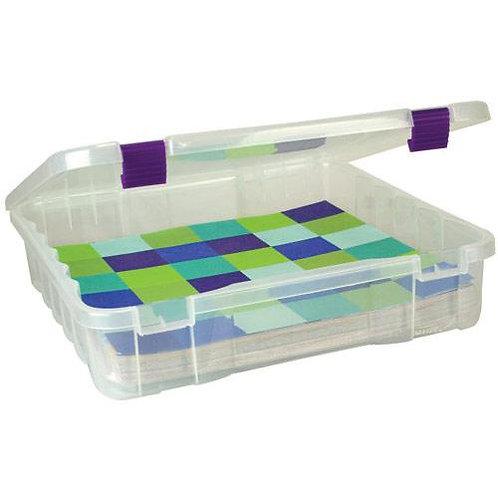 12x12 plastic storage container
