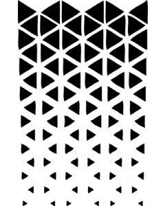 UmWow Triangle Fade Stencil