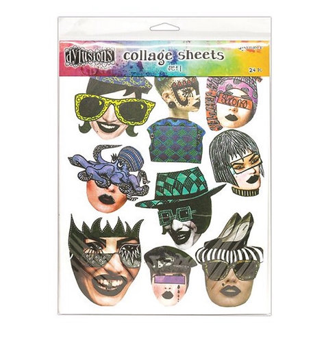 Collage sheets set 1- Dylusions