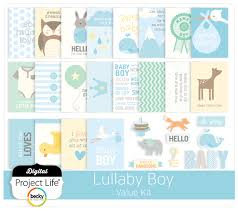 Project Life Value Kit-- Lullaby -boy