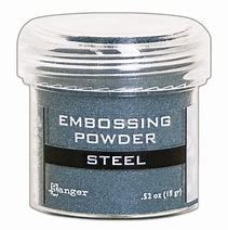 Embossing powder- Steel