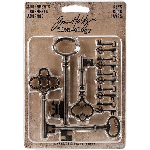 Metal keys- Tim Holtz