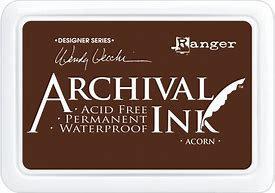 Archival ink -Acorn
