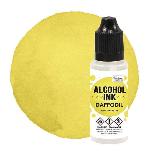 Alcohol Ink Daffodil