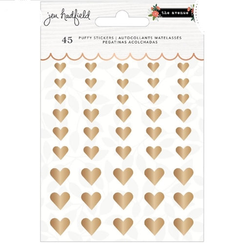 Puffy Heart Stickers- The Avenue