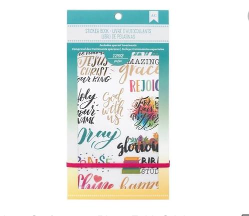 Faith Sticker Book