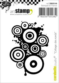 Carabelle Studio Art Stamp-Des Ronds