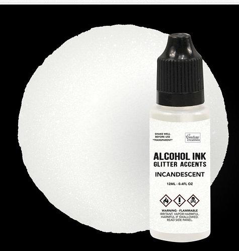 Incandescent-Glitter Alcohol Ink