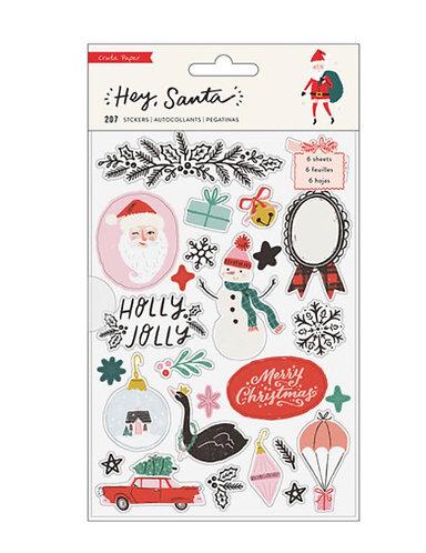 Sticker Book- Hey Santa- Crate Paper