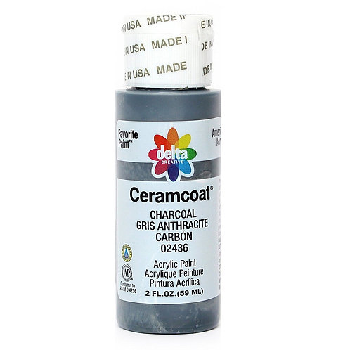 Charcoal Ceramcoat Paint