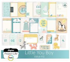 Project Life Value Kit-- Little You-boy