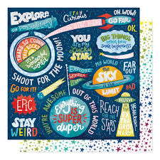 12x12 Stay Curious Field Trip paper-Shimelle