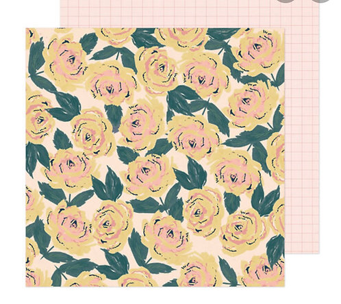 Blooming 12x12 paper- Fresh Bouquet