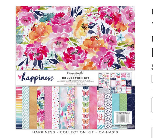 Happiness 12x12  Collection Kit