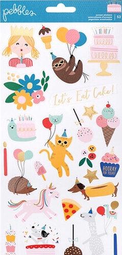 Happy Cake Day Sticker Sheet