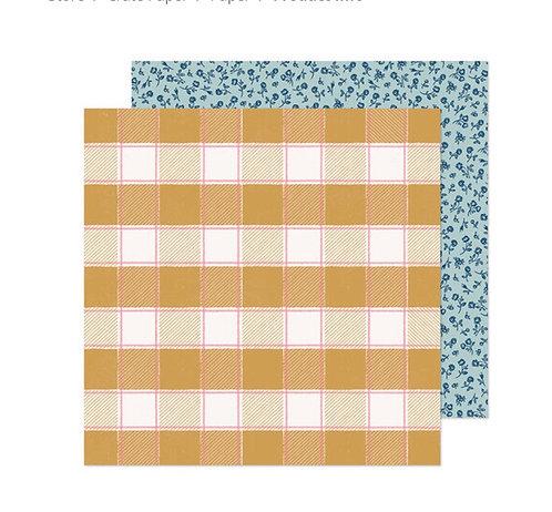 Marigold 12x12 Sweet sunshine Crate Paper