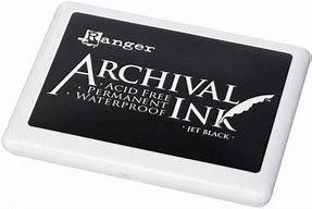 Archival ink -Jet black