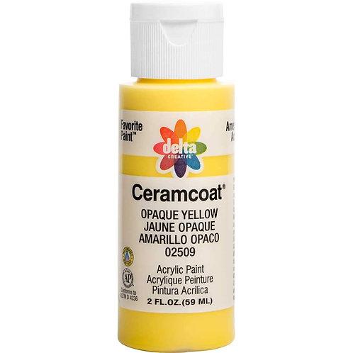 Opaque Yellow Ceramcoat Paint