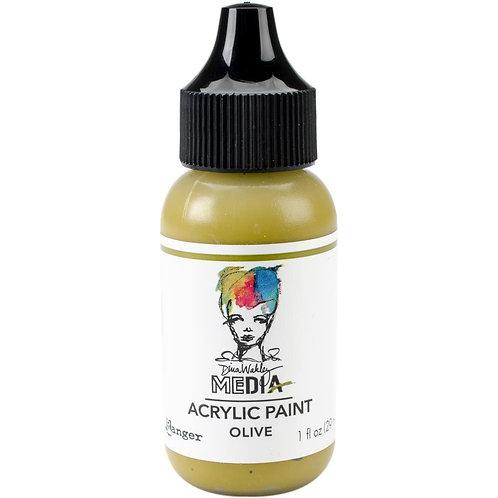 Dina Wakley Paint Olive