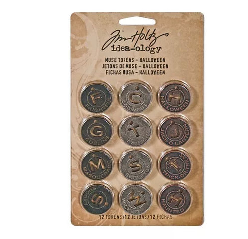 Muse Tokens- metal - Tim Holtz
